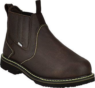 Men's Iron Age Steel Toe Slip-On Metguard Work Boot IA5018