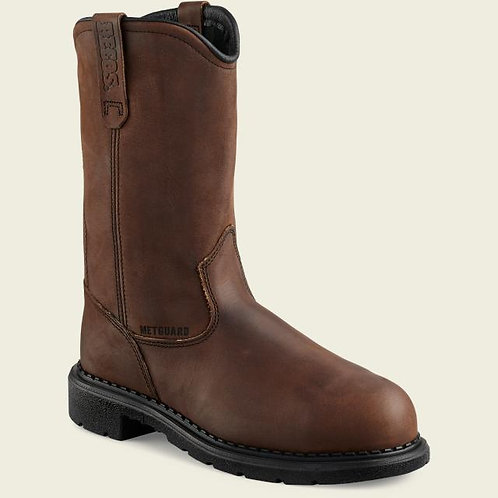 "Red Wing Men's Supersole 11"" Pull-On Boot Safety TOE Met Guard"
