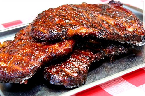 Hickory Smoked BBQ Pork Steaks