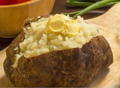 Slow Smoked Baked Potato - 4
