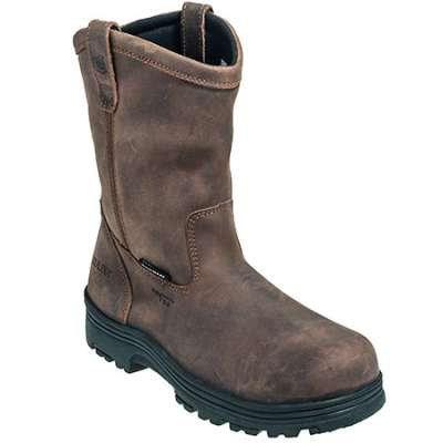 Carolina Boots: Men's Brown CA2533 Composite TOE Welling EH Work Boots