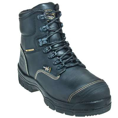 "Oliver- 55 Series 6"" Lace-Up with Met Guard Boot- 55246-BLK"