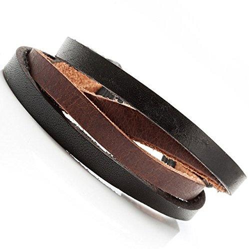 Men's Bracelets, Men's Leather Fashion Bracelet, Holiday Gift for Men