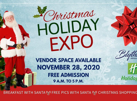 Christmas Holiday Expo at the Holiday Inn set for November 28