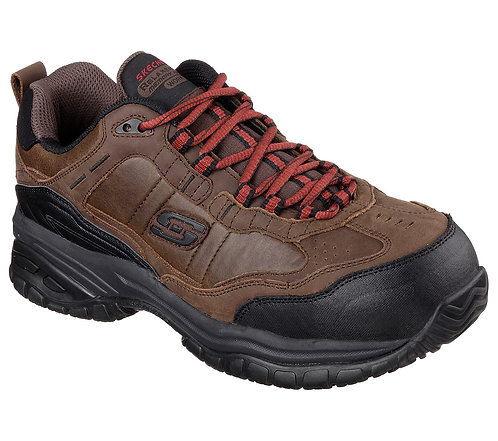 Skechers Work Relaxed Fit: Soft Stride - Constructor II comp TOE 77059
