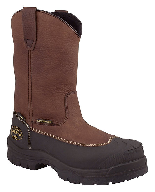 """Oliver 65 Series 10"""" Leather Chemical & Puncture-Resistant Steel TOE Met Guard"""