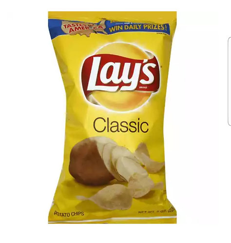 Lays Classic Chips- Family Size