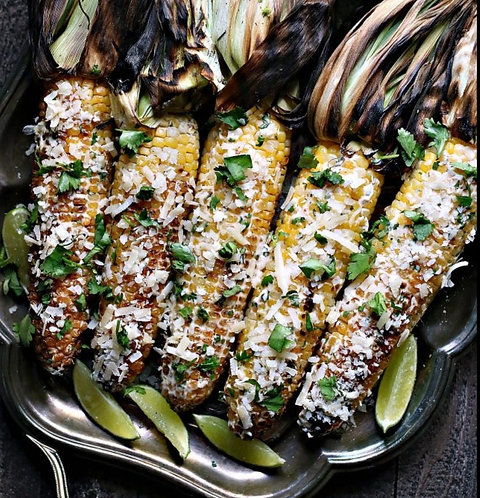 Smoked Mexican Street Corn