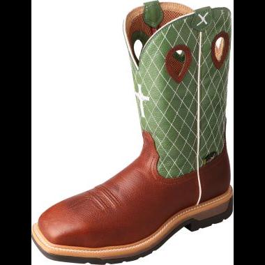 Twisted X Men's Steel Toe Lite Western Work Boot – MetGuard