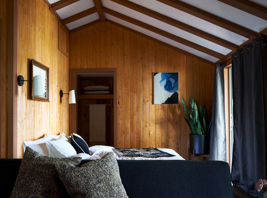 Northwest Designers Revamp the Cabins at Captain Whidbey Inn