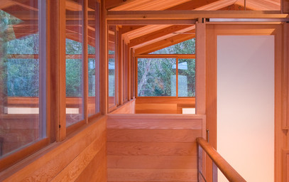 Bjarko Serra Architects Dabob Bay staircase
