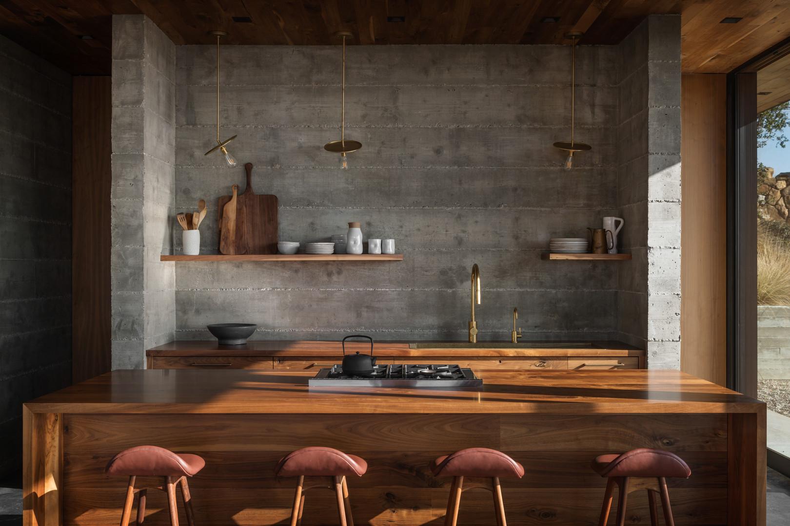 Interior Design, residential: Santa Barbara Coast House