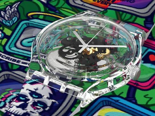 Seattle Artist Jared K. Nickerson Creates Exclusive Designs for Swatch