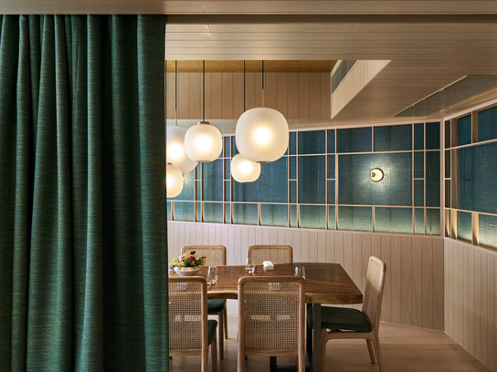 Interiors at Hong Kong's Hansik Goo Focus on Sky, Earth, Bounty