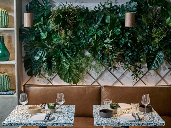 British Design Studio Fare Brings Tropical Modernism to Kolamba Restaurant