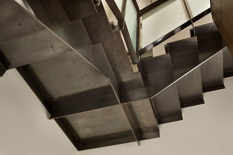 Tyler Engle modern staircase detail