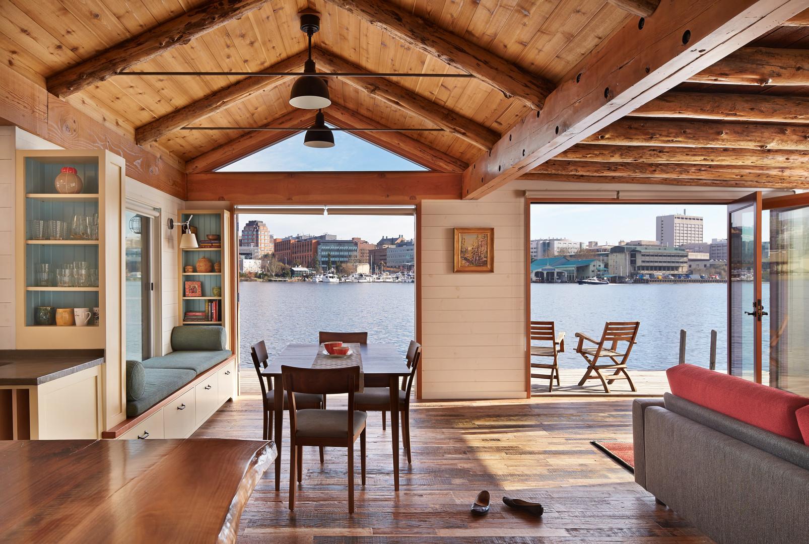 SHKS ARCHITECTS houseboat