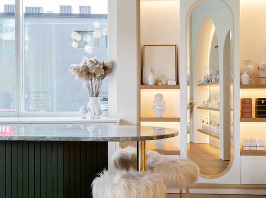 Escape to Southern Italy in Melanie Auld Jewelry's Vancouver Flagship