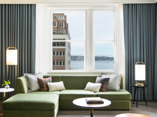 Kimpton Alexis Hotel Unveils New Guest Rooms Celebrating Seattle's Natural Beauty