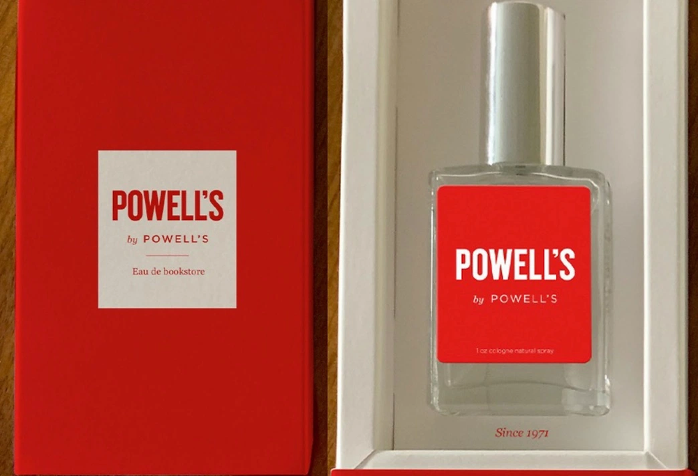 'Powell's by Powell's' is a unisex fragrance offered by Powell's Books in Portland