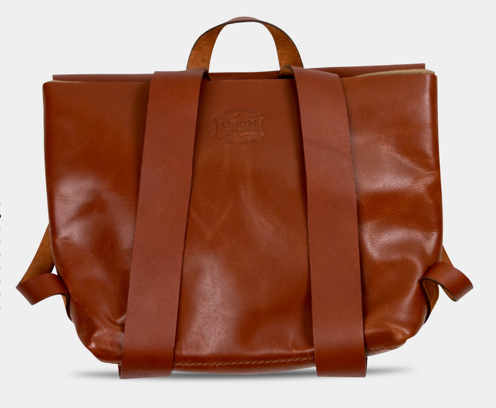 Orox Leather Co. satchel backpack
