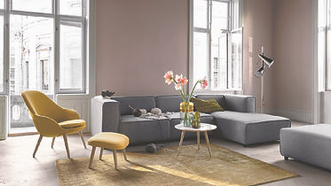 BoConcept Bellevue Adelaide lounge chair and Carmo sofa