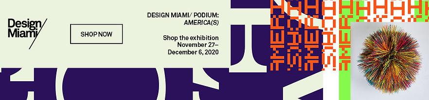 Design Miami exhibition and shop