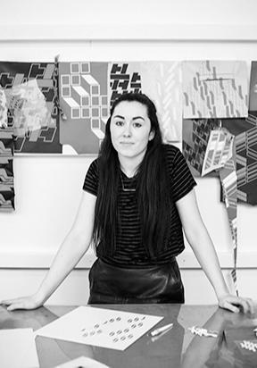 Womenswear designer Katie Ann McGuigan.