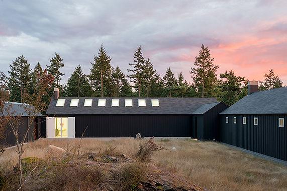Atelier Drome Orcas Island San Juan Islands Washington State home and artist studio