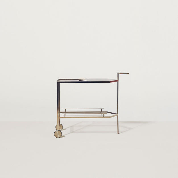Gin Lane Bar Cart by Yabu Pushelberg