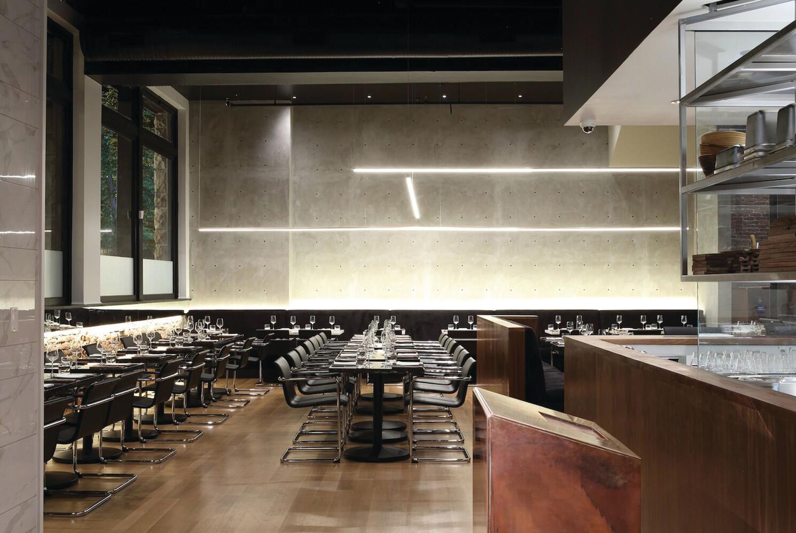 INTERIOR DESIGN, Commercial: Bauhaus Restaurant