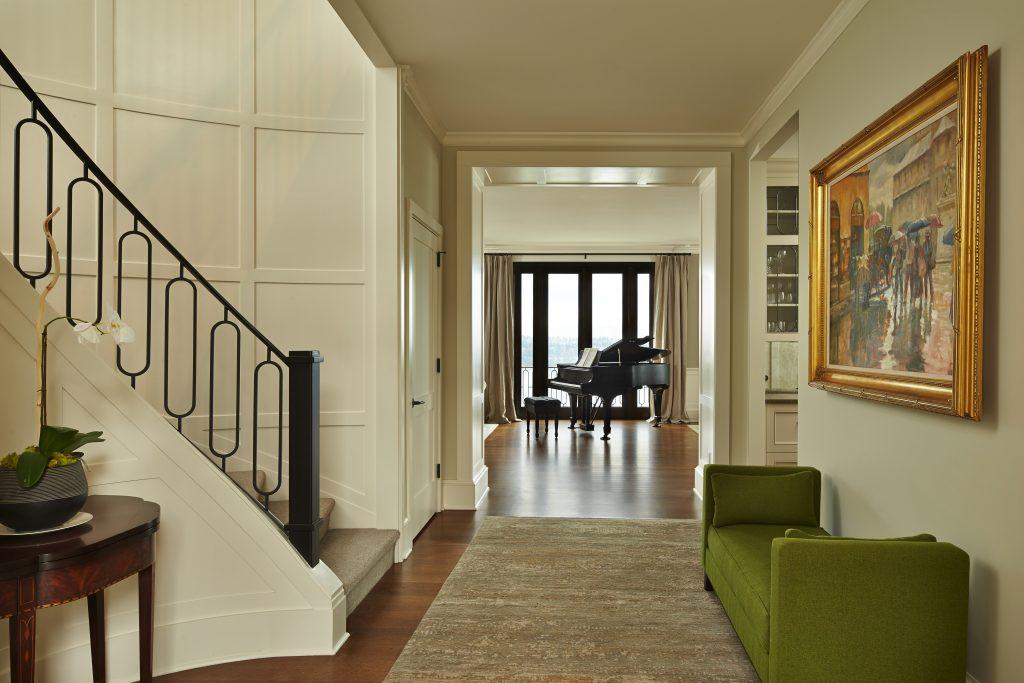 SHKS ARCHITECTS Washington Park Seattle interior with piano