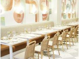 The Concrete Jungle Grows Greener with Manhattan's Lush Il Fiorista Restaurant
