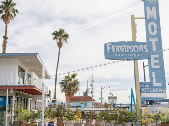A Roadside Motel on Las Vegas's Historic Fremont Street Reopens as a Bustling Communal Space