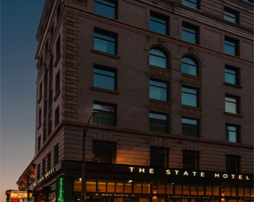 Historic Eitel Building Finally Ready For its Closeup—As The State Hotel