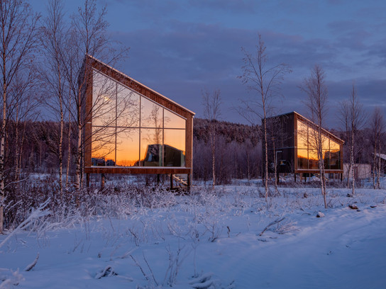 You'll Want to Pack a Swimsuit for Arctic Bath, Northern Sweden's Latest Floating Hotel