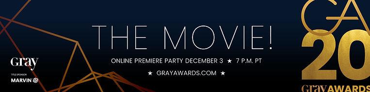 GRAY magazine GRAY Awards 2020 The Movie