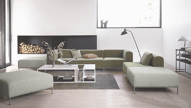 BoConcept Bellevue Miami sofa and Philidelphia coffee table