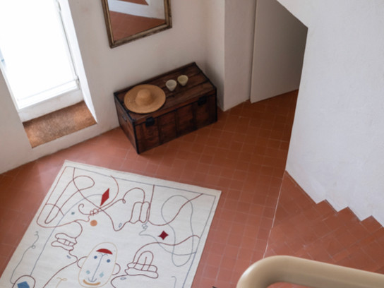 Jaime Hayon's Latest Rug Collection with Nanimarquina Looks Good Indoors and Out