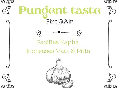 Pungent Taste in Ayurveda (Taste Series)