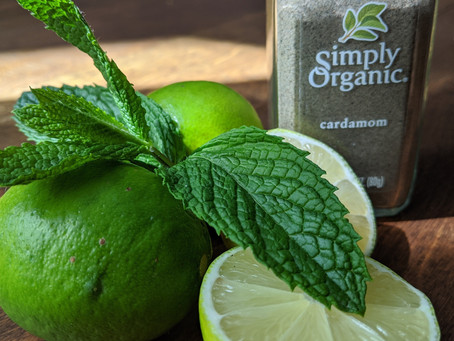 Cool off with Cardamom Limeade