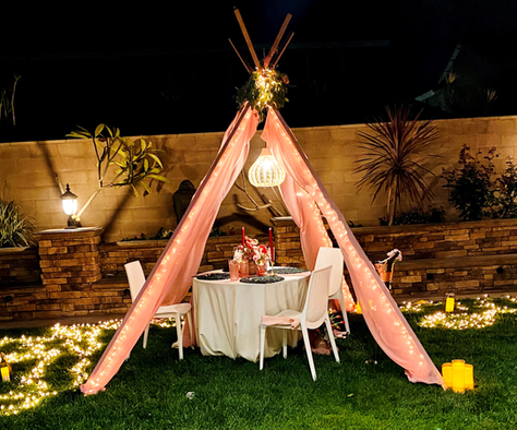 Intimate Dinner for couple