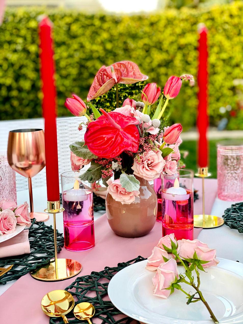 exquisite flower decor
