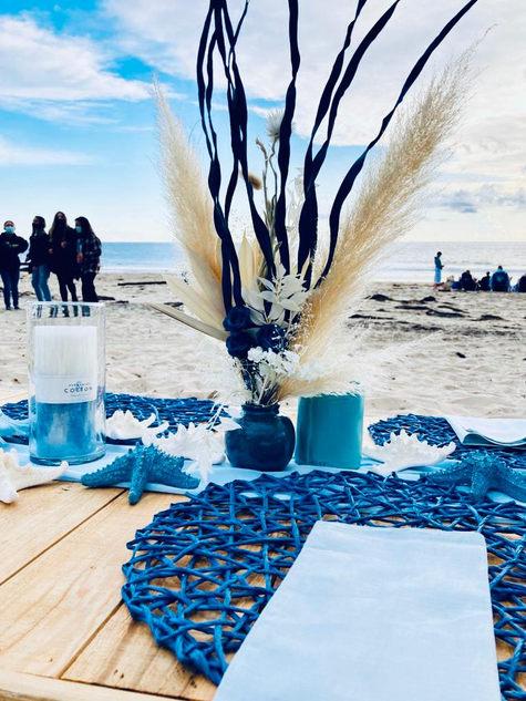 blue and beach