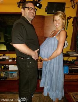 Sarah Wright Olen and Dr. Berlin