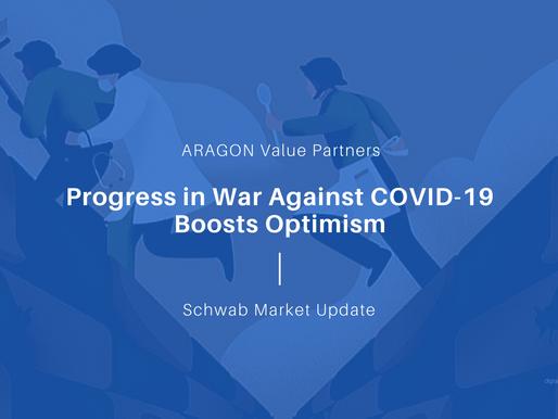 Progress in War Against COVID-19 Boosts Optimism
