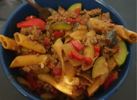 Beef and Vegetable Pasta Sauce