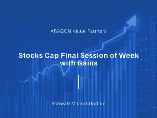 Stocks Cap Final Session of Week with Gains