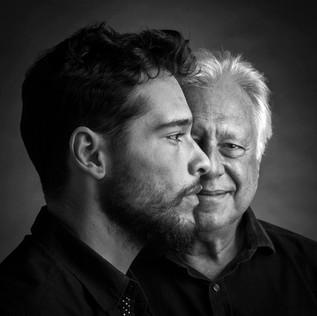 Bruno e Antonio Fagundes