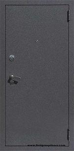 Дверь входная металлическая недорого МДФ + порошковая краска Пушкино